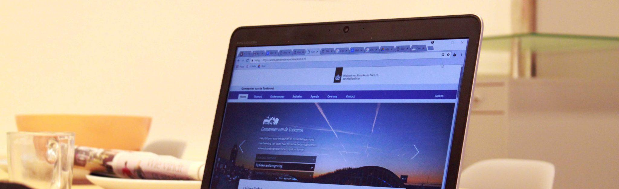 Webredactie en monitoring gemeenten van de toekomst hvr group