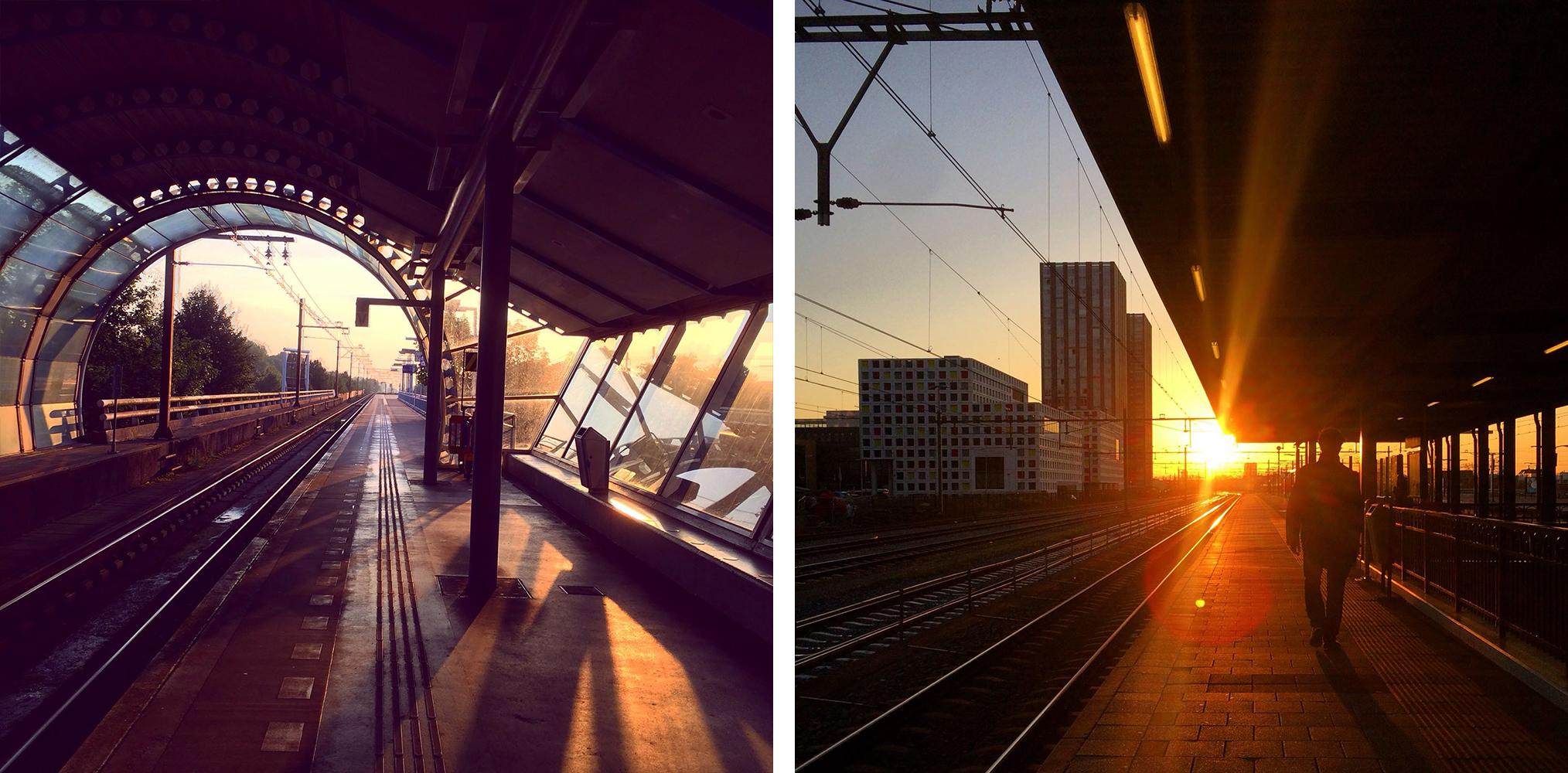 Reizen voor HVR station duivendrecht en Holland Spoor