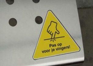 Pas op voor waarschuwingen!
